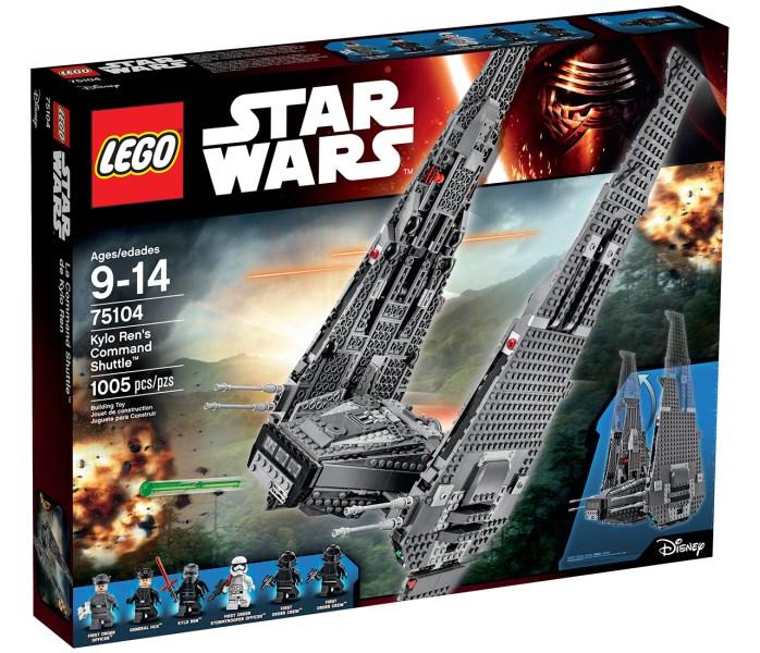 kylo ren shuttle lego 0a