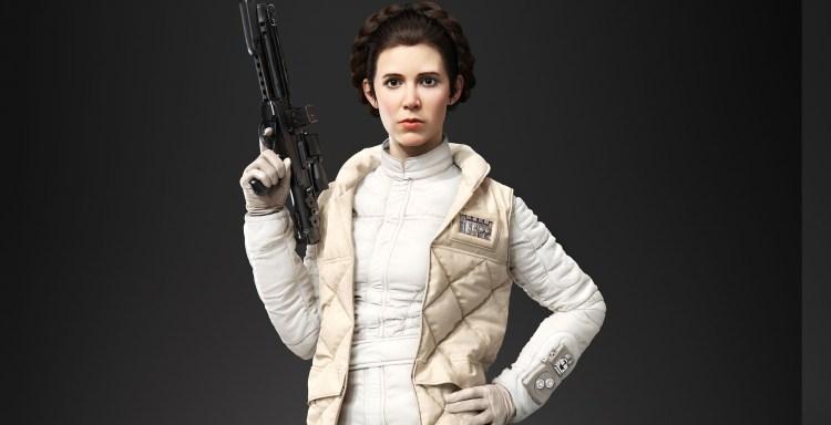 SWBF Leia