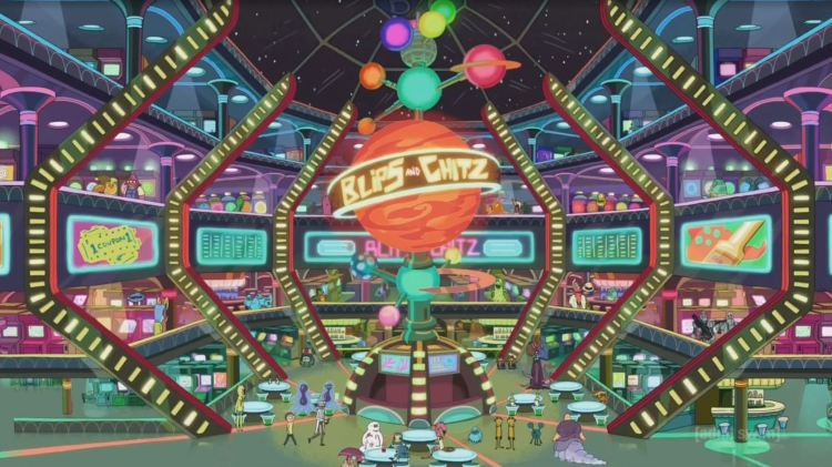 rick and morty - blips and chitz