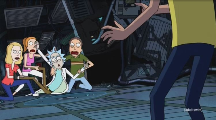 rick and morty - clones from an alternate reality