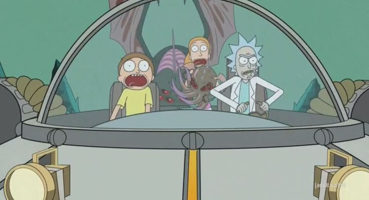 rick and morty - cthulhu