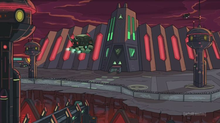 rick and morty - federation prison