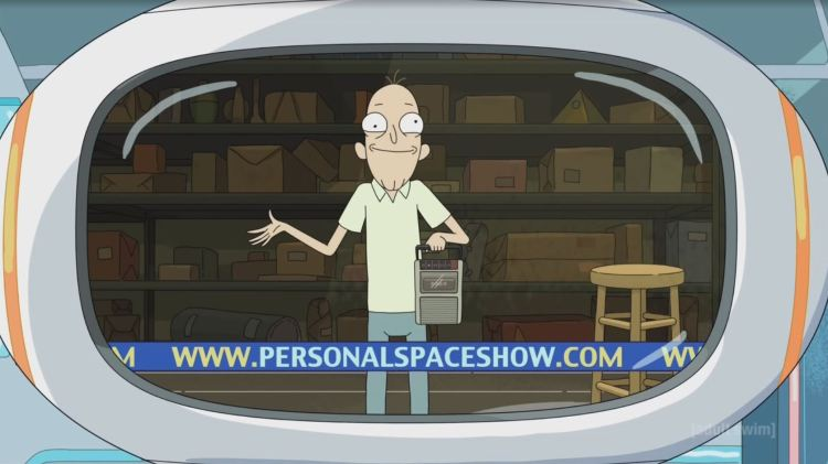 rick and morty - personal space show
