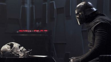 Photo of Kylo Ren and Darth Vader, Face to Face [Image]