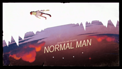 "Photo of Original Sin and Normal Men in Adventure Time's ""Normal Man"""
