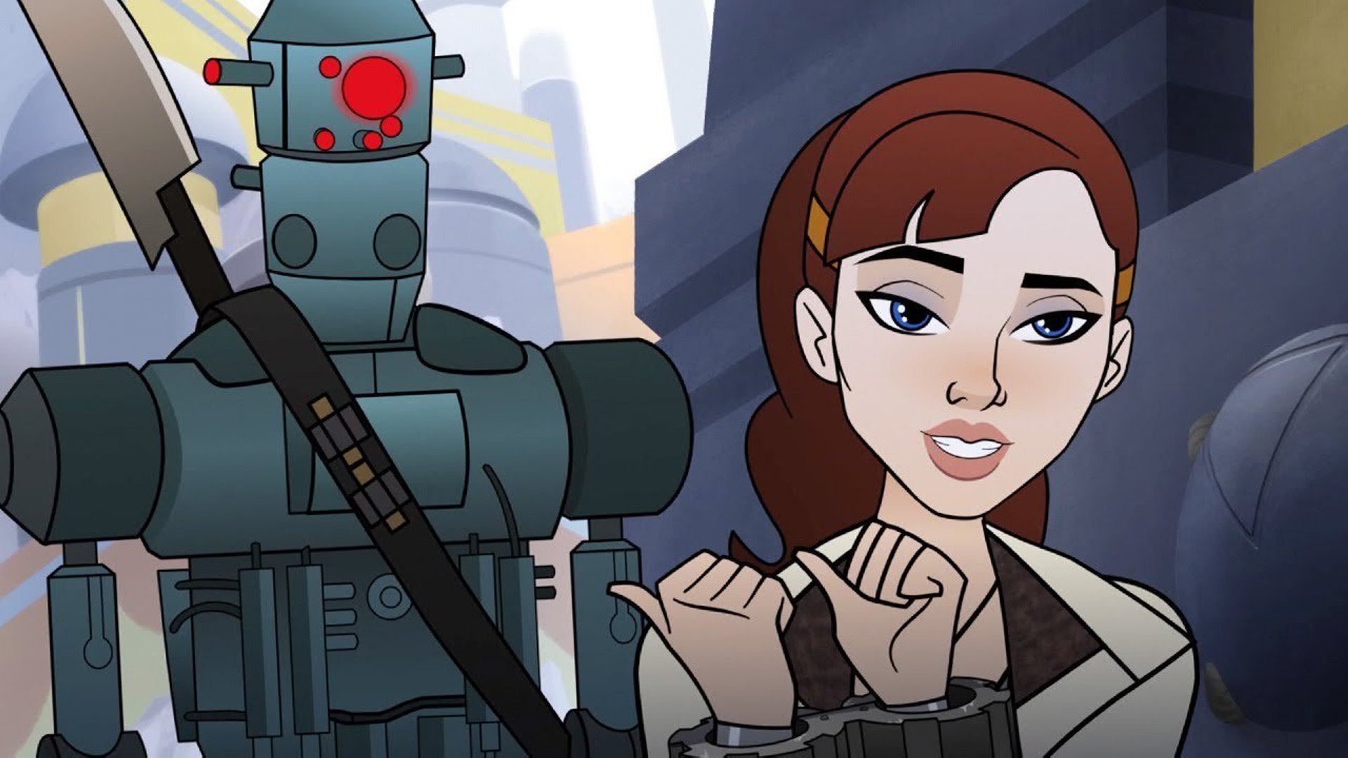 There S A New Star Wars Forces Of Destiny Short Out Today And It Ties Right Into Solo Overmental