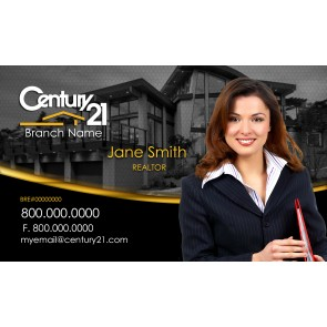 Century21 Business Cards Real Estate Business Cards