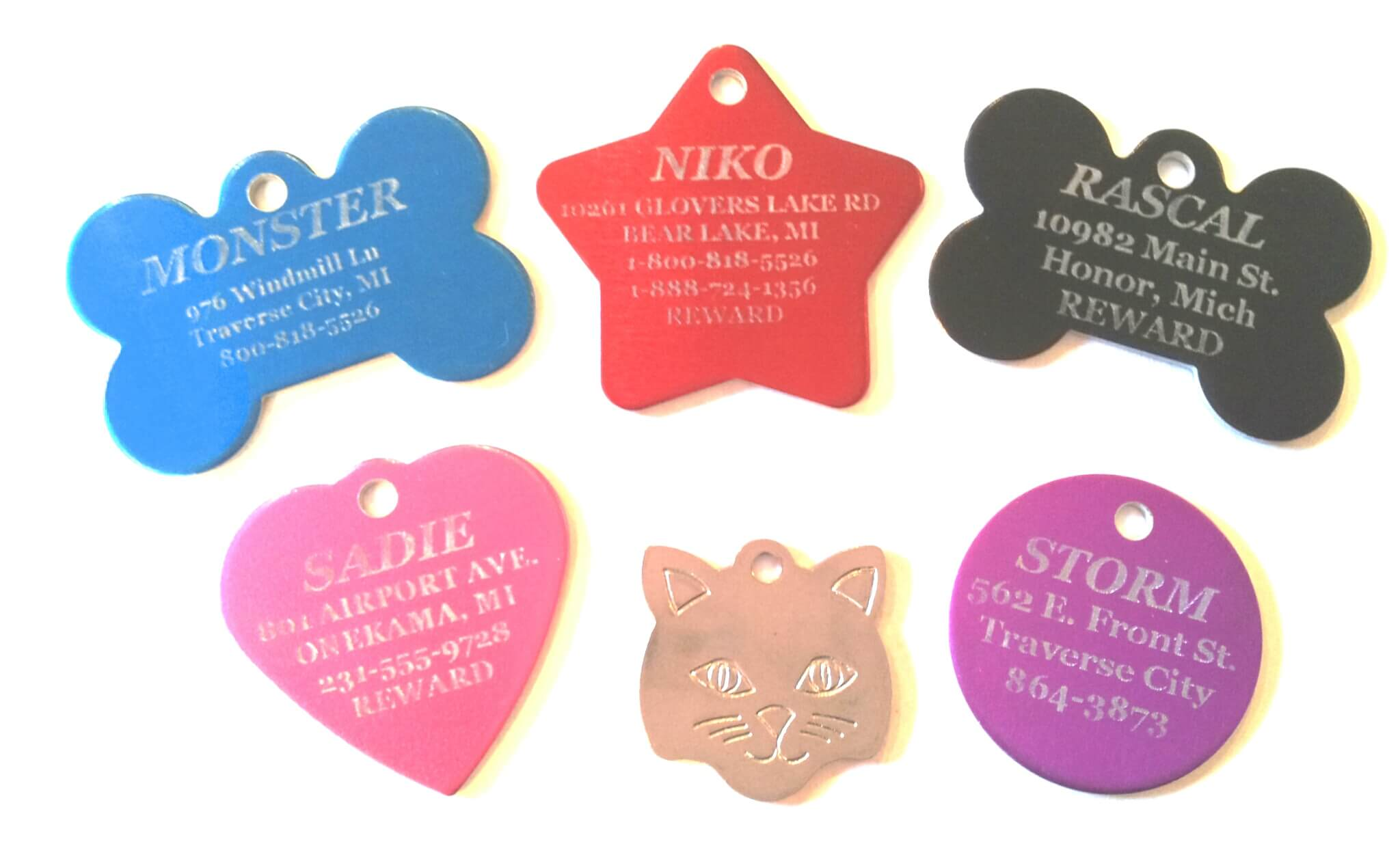 Cheap Pet Tags, Dog Tags, And Free Shipping