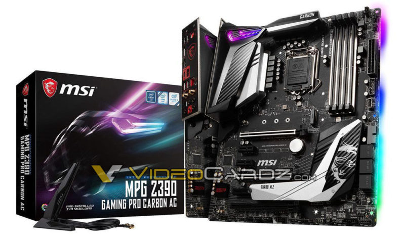 MPG Z390 Gaming Pro Carbon AC