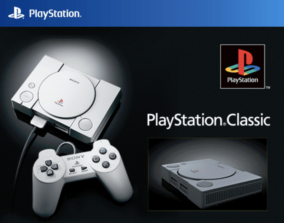 PlayStation Classic предзаказ
