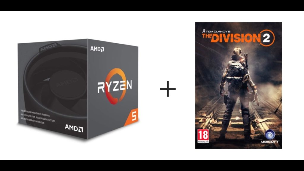 AMD Ryzen 5 2600 с Wraith Stealth Cooler + Division 2 за $ 154,99
