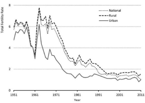 China fertility