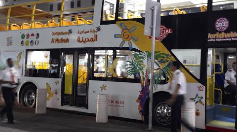 medinah sightseeing bus