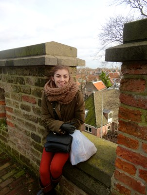 On top of De Brucht Castle