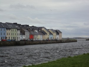 Houses on Galway Bay