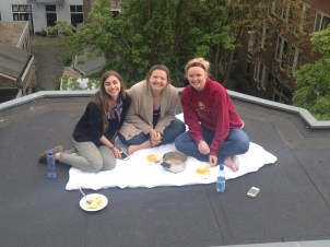 Lunch on the Roof