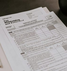 income tax form photo