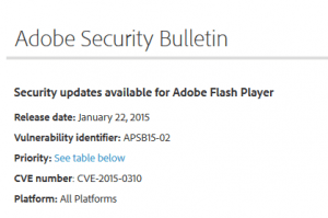 adobe securitybulletin
