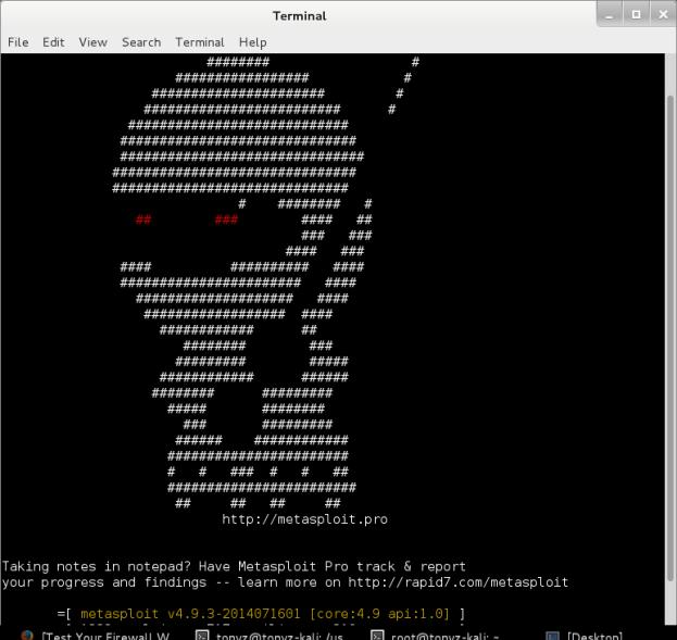 Metasploit-screenshot0715