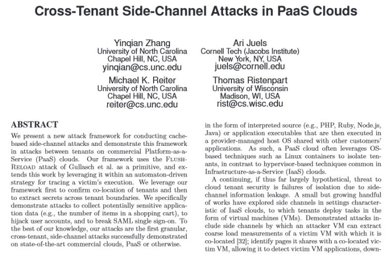 cross-tenant-PaaSclouds
