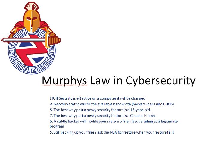 murphyslaw in cybersecurity