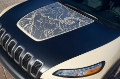 "Jeep® Cherokee Canyon Trail ""Hell's Revenge"" topographica"