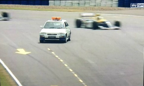 Ford Escort Cosworth F1 Safety Car 1993 British GP