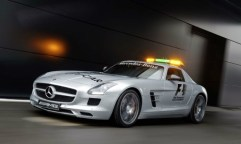 The Mercedes-Benz SLS AMG GT was used between 2012-2014