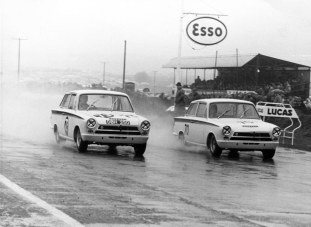 One of the several fast Fords that punctuated BTCC's 60-year history, the Lotus tweaked Cortina was small but mighty. At the hands of greats such as Jim Clark (who won the 1964 Championship at the wheel of a Cortina) and Sir John Whitmore, the little Cortina brought home big results, regularly seen on three wheels at apexes throughout the UK.