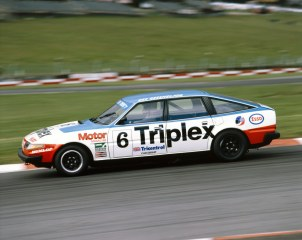 Despite its less than petite proportions, the thunderous V8 of this British brute resulted in a dramatic sight and sound at any race meeting, particularly when dicing with similarly muscular American rivals. Whether in Bastos, Patrick Motorsport or Triplex livery, the SD1 made its presence known.