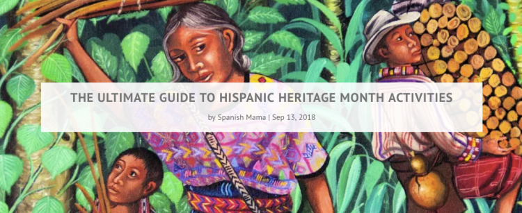 Hispanic Heritage Month Activities | Spanish Mama