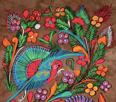 Amate Mexican Folk Painting