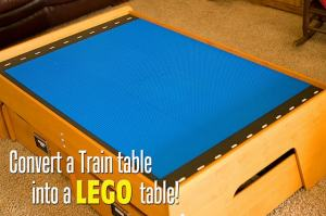 Train Table to Lego Table!