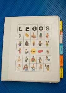 Lego Instructions Organizing Book