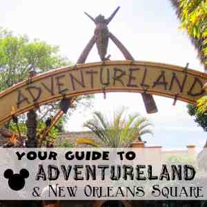 Adventureland and New Orleans Square - Ride by Ride