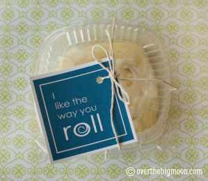 I Like the Way You Roll Gift Tag