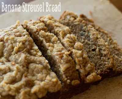 Banana Streusel Bread