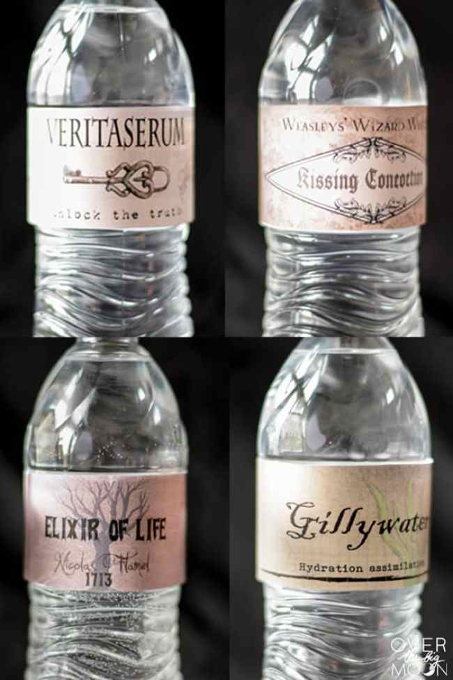 Free Harry Potter Drink Printables