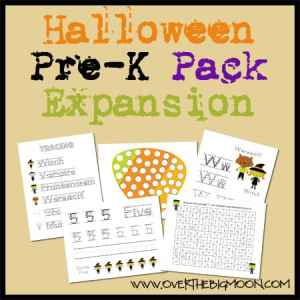 Halloween Pre-K Pack Expansion