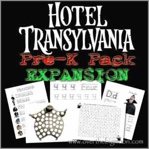 Hotel Transylvania Pre-K Pack Expansion