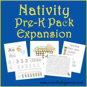 Nativity Pre-K Pack Expansion