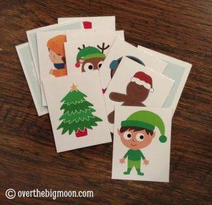 Christmas Song Cards & Game for Kids {Free Printable}