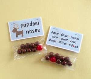 Reindeer Noses - Free Printable
