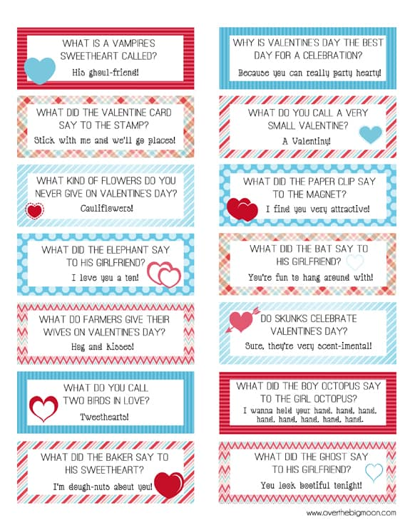 graphic regarding Printable Lunchbox Jokes titled Cost-free Printable Valentines Lunch Box Joke Playing cards!
