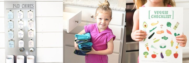 Chores & Parenting Tips from Over the Big Moon!