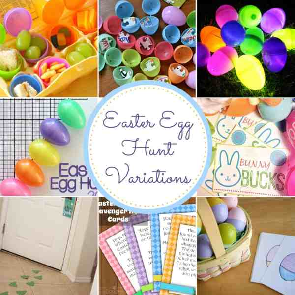 10+ Easter Egg Hunt Ideas that are perfect for families in all stages! From overthebigmoon.com!