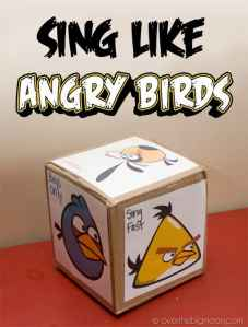 Sing Like Angry Birds