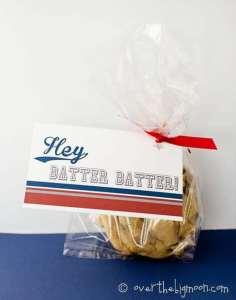 Hey, Batter Batter Gift Tag