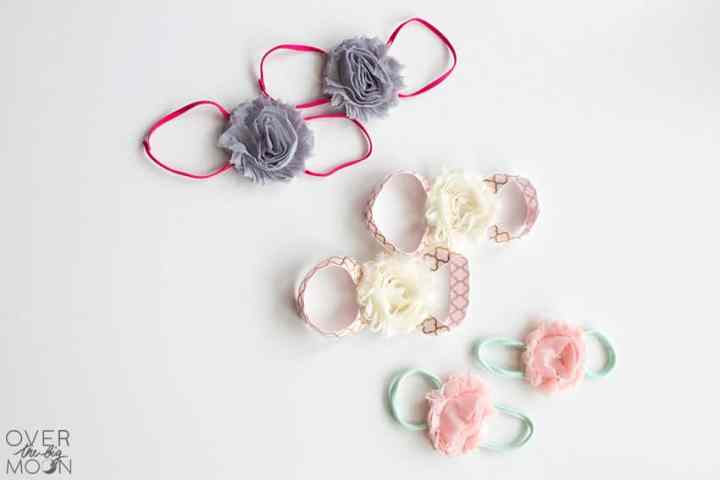 Baby Barefoot Sandals - perfect for babies of all ages! From overthebigmoon.com!