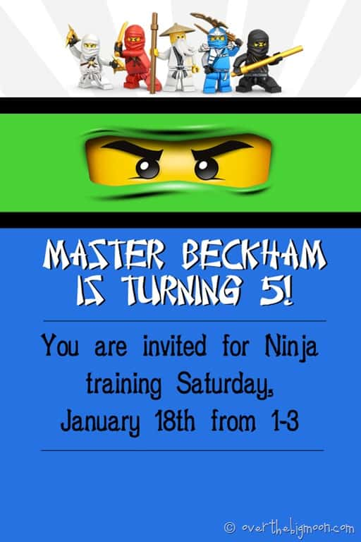 image regarding Printable Ninjago Eyes known as Ninjago Birthday Social gathering with Totally free Printables